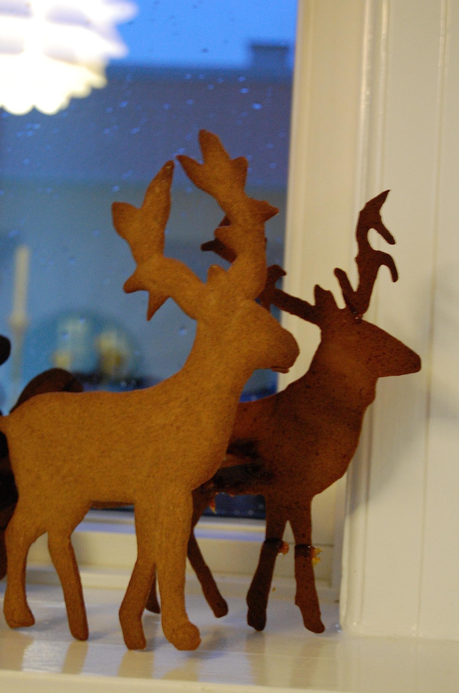 #7D410B Mest effektive Peberkager/brunkager Og Inspiration Til Brunkagekreativitet Med Rensdyr Og  Gør Det Selv Julepynt 5545 149622565545