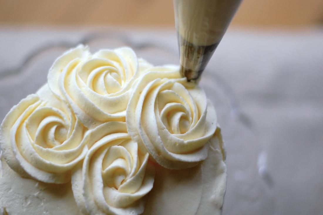 smørcreme til roser
