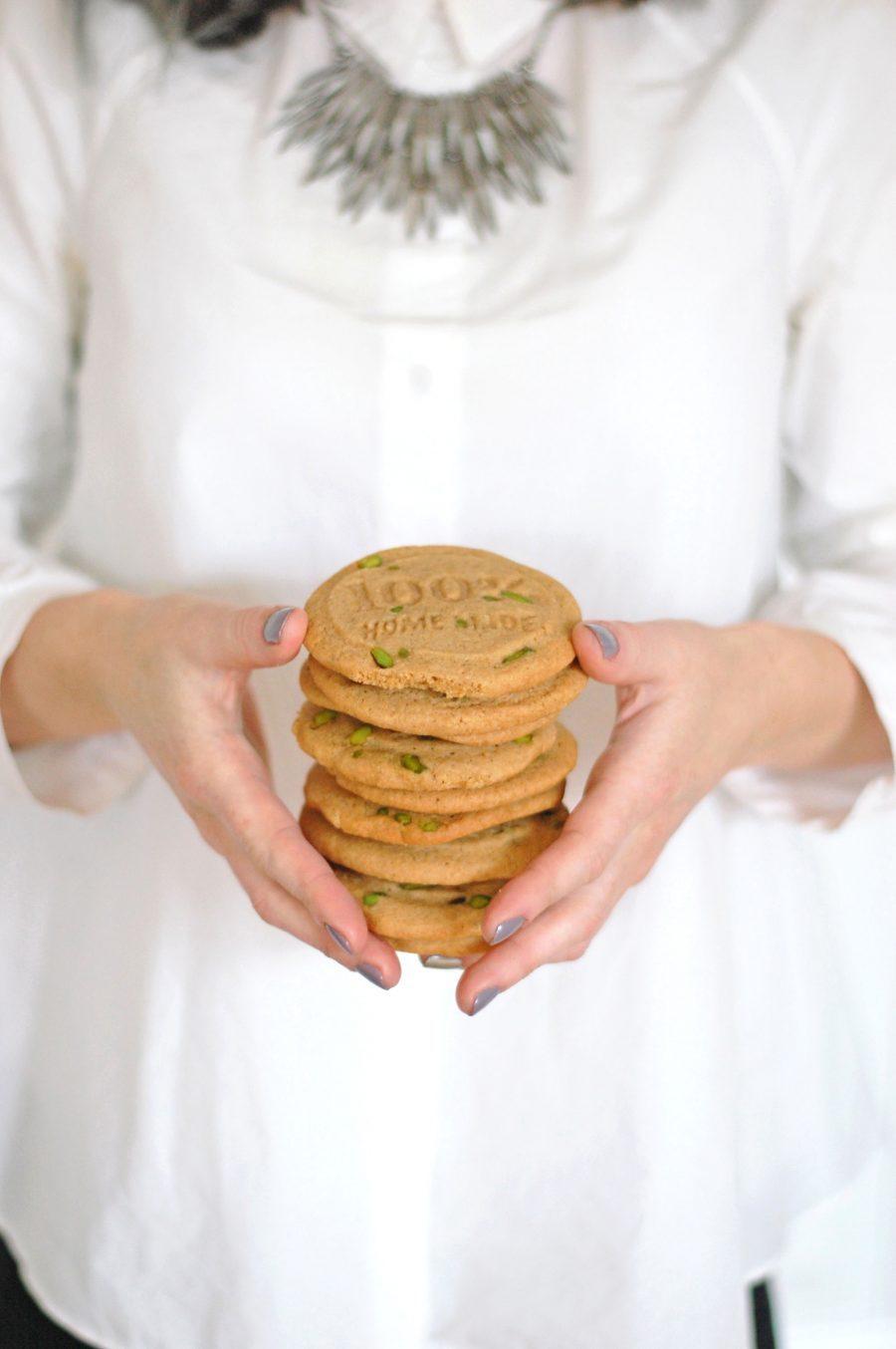 Pistachie cookies