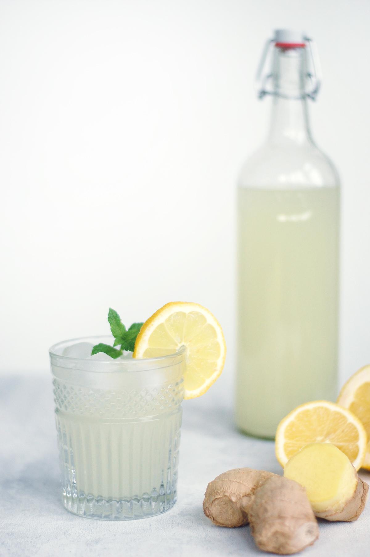 Hjemmelavet ginger ale fra copenhagencakes4