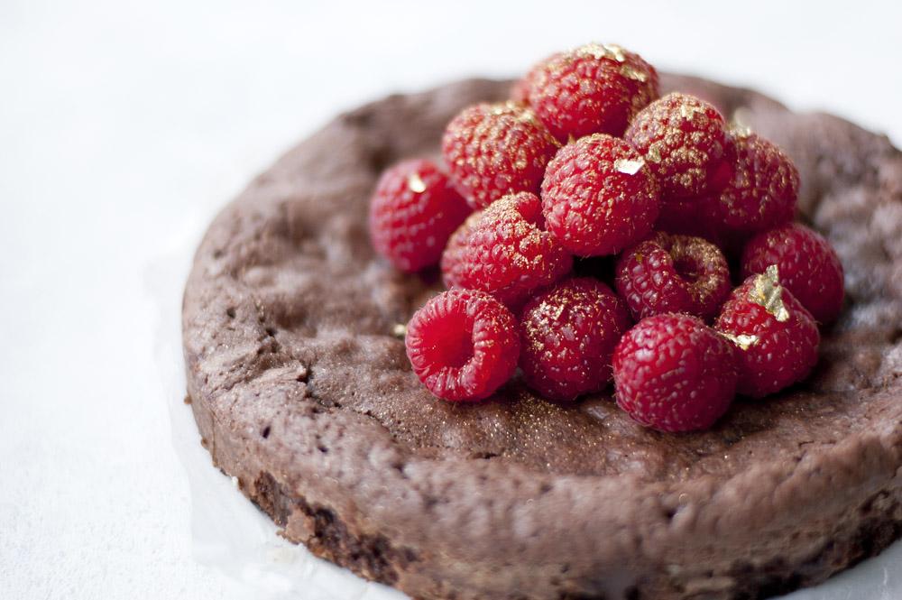 Copenhagen cakes Copenhagencakes Chokoladekage med hindbær