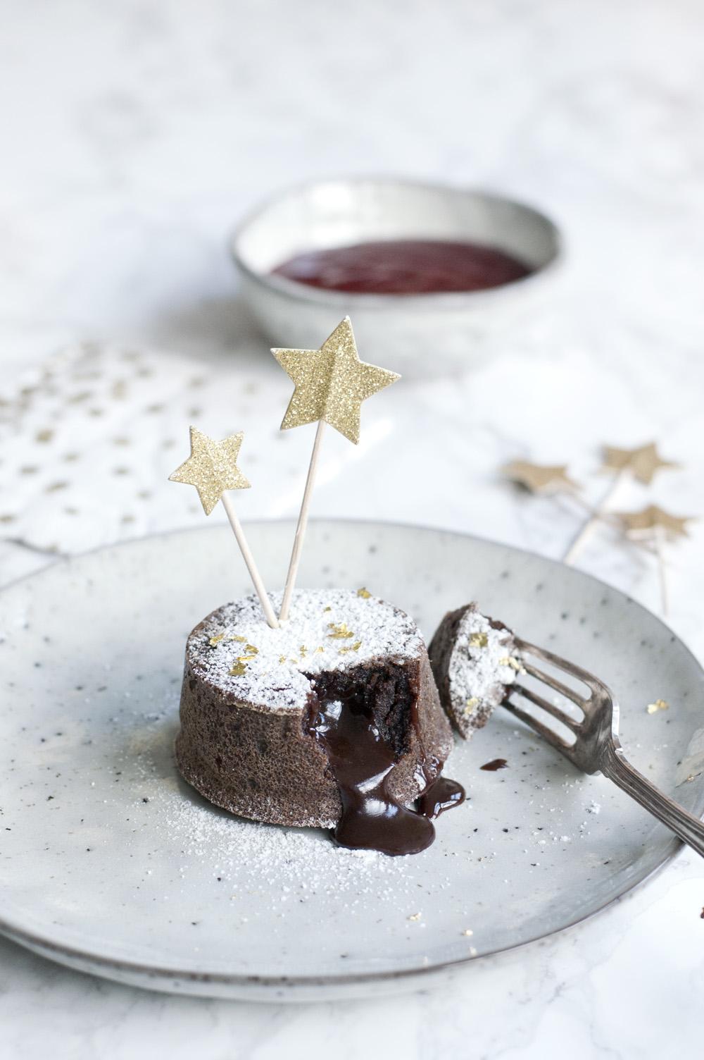 Copenhagen Cakes Copenhagencakes Chokoladefondant Chocolate Fondant New Years Dessert Nytaarsaften 4